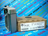 PLC-ALLEN BRADLEY 1769-OB16 OUTPUT MODULE 16PT 24VDC SOURCE COMPACT LOGIX