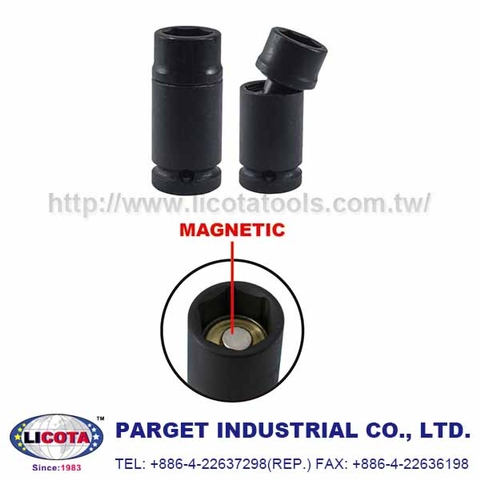 MAGNETIC IMPACT UNIVERSAL  JOINT SOCKET