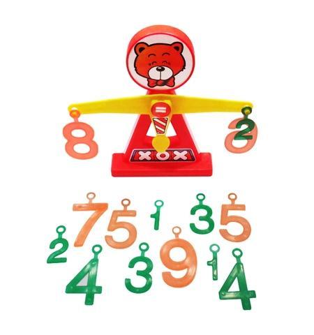 Bear Math Balance(including bear and number)