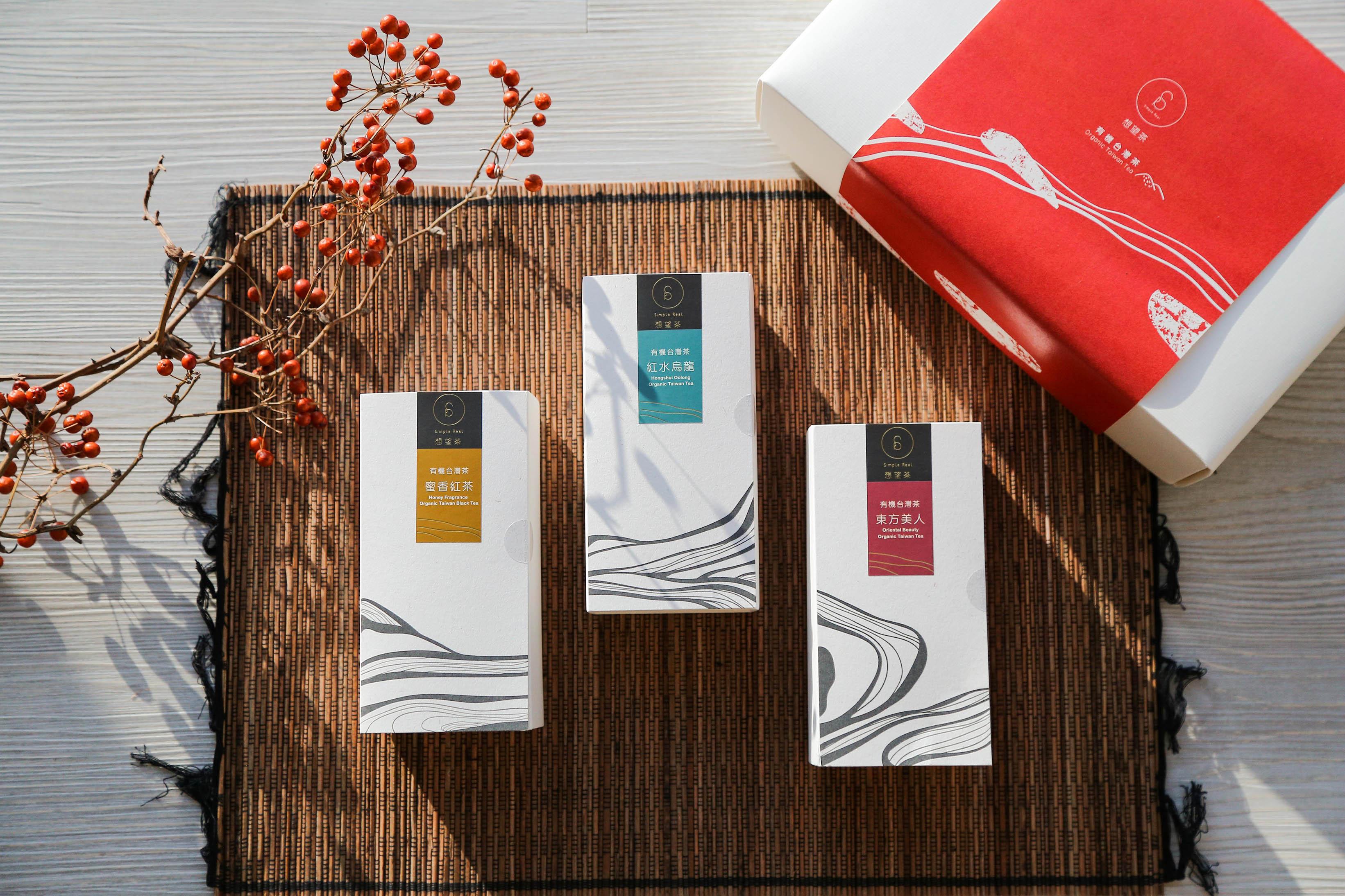 Simplereal Organic Taiwan Tea Gift Set Oolong Black Oriental Beauty Tea Taiwantrade Com