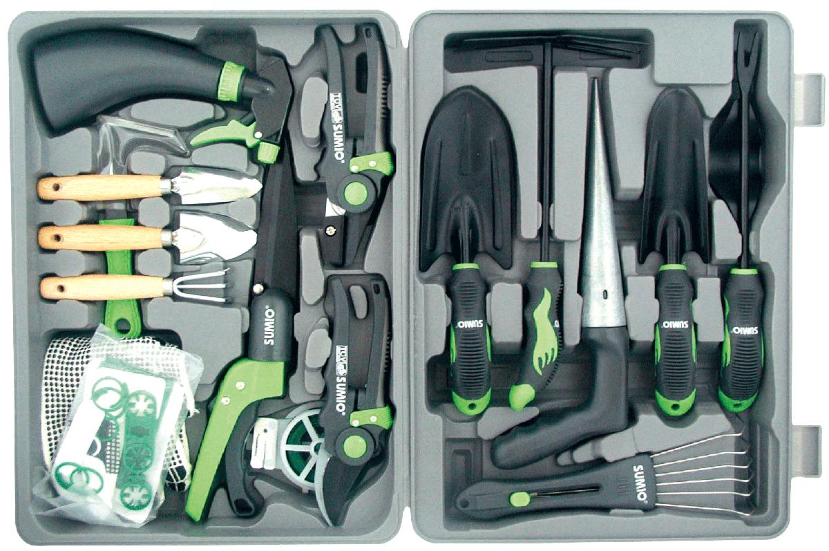 Taiwan 17 Pcs Gardening Tool W/ACCESSORIES | GEON HUNG ENTERPRISE CO., LTD.