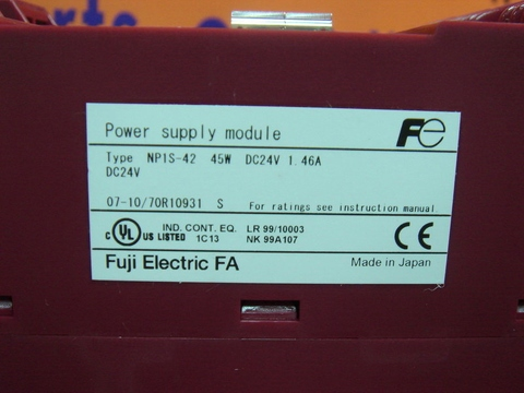 FUJI NP1S-42 POWER SUPPLY MODULE