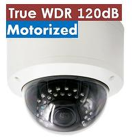 H.264 2.0MP WDR Motorized IP Camera