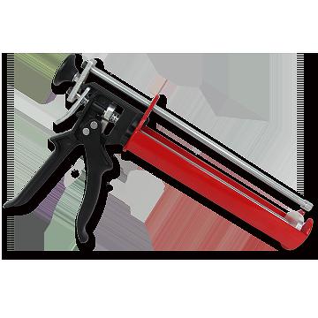 chemical resin, aluminium extrusion, Caulk gun