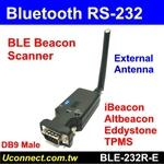 Bluetooth BLE Beacon RS232 Reader, External Antenna