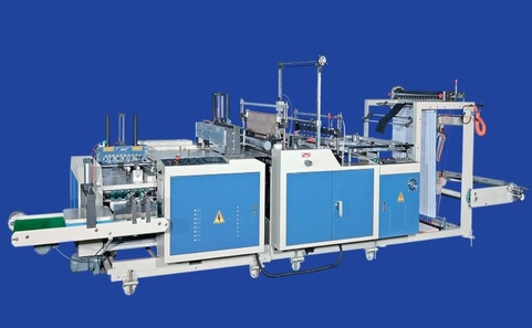 Auto Bag Sealing-Cutting-Folding Machine