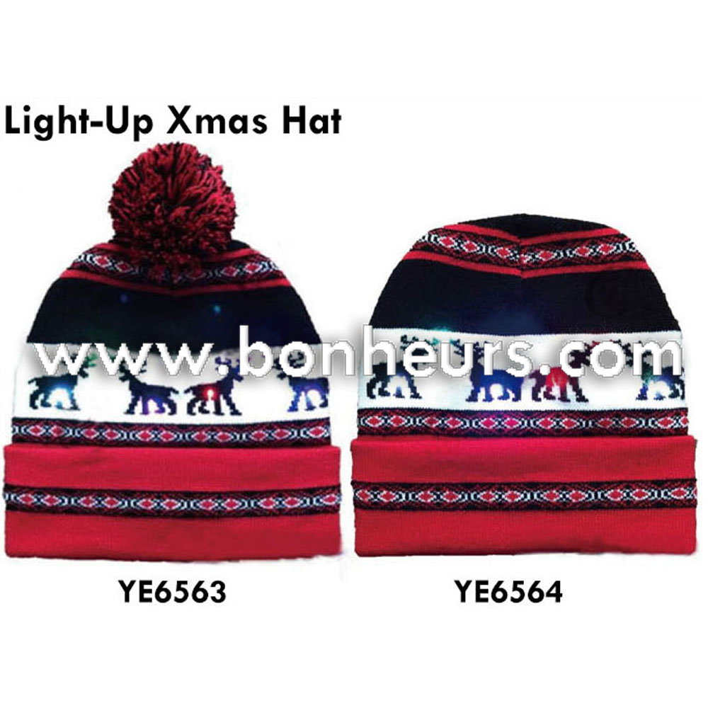 05aa0b4fbd6d2 Taiwan LIGHT-UP XMAS HAT