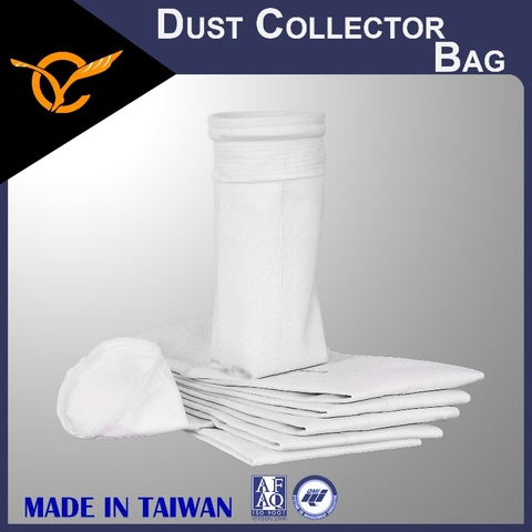 PET Filter Bags, Surface Singeing Filter Bags