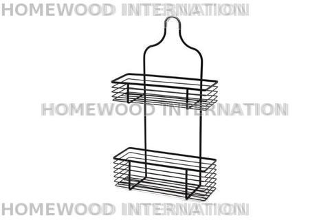 BATHACCESSORIES-SHOWERCADDY-IRON-BLACK-WIRE