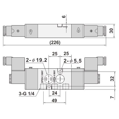 3 way air valve diagram 5 2  3 2 way pilot solenoid valve namur valve taiwantrade com  pilot solenoid valve namur valve