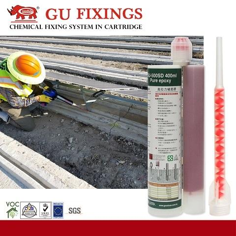Versatile High Load Adhesive Injection Epoxy For Machinery