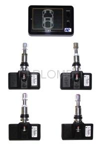 Tire Pressure Monitoring System for passenger car, SUV, 4X4 tires-1(Common)
