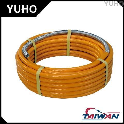 PE yellow coating flexible pipe