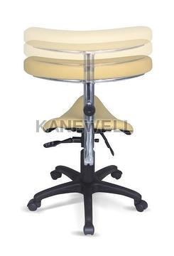 Saddle Plastic Seat Chair , With Arm + Wholesaler