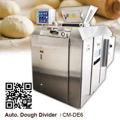 Volumetric Dough Divider - 6 Packet