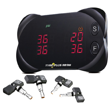 Wireless Tire Pressure Monitoring System for Passenger Car (TYREPLUS)