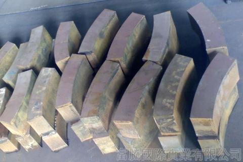 Hardox®500 潛遁機螺旋輸送耐磨塊