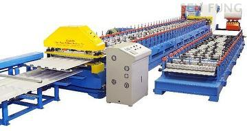 Taiwan Roofing Corrugated Sheet Roll Forming Machine Sen