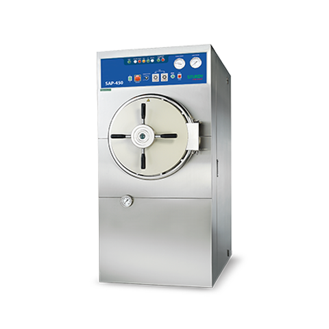 Floor Stand Autoclave SAP Series Cylindrical, Hospital and Ward Nursing Equipment