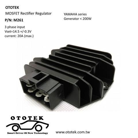 Taiwan MOSFET rectifier regulator, motorcycle rectifier, Yamaha