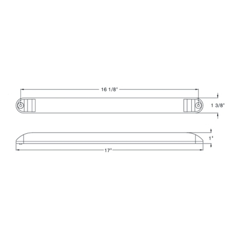 LED Sealed Light Bar