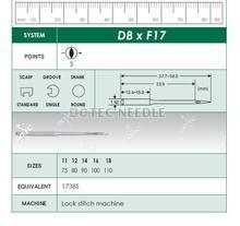 DBXF17 - Lock Stitch Machine Needle
