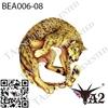 ビーストタトゥーシール、動物タトゥー、豹タトゥー、獅子タトゥー、狼タトゥー、虎タトゥー、ta2_studio