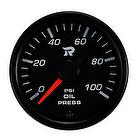 45mm Performance Miniature Oil Pressure Gauge-PSI,automobiles motorcycles car meter gauge,