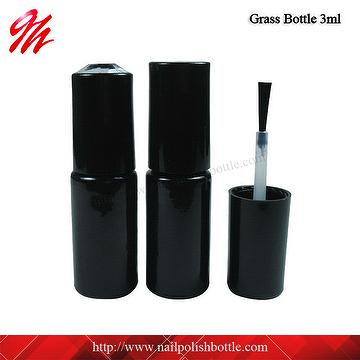 3ml Round Glass Gel Nail Polish Bottle