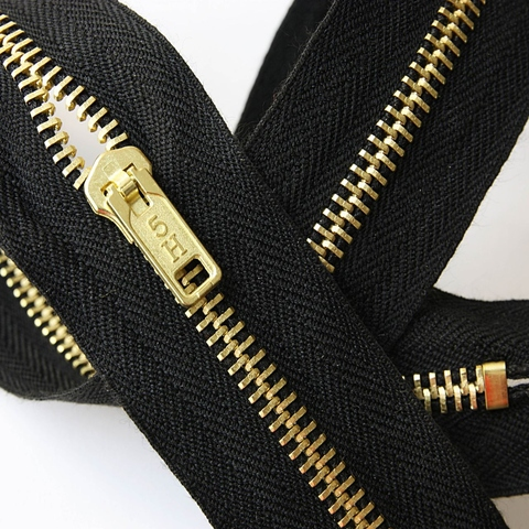 Nomex Zipper With Brass Teeth