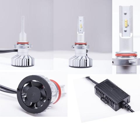 H8 LED Headlight Vehicle Bulb All in one design 80W 9-32V