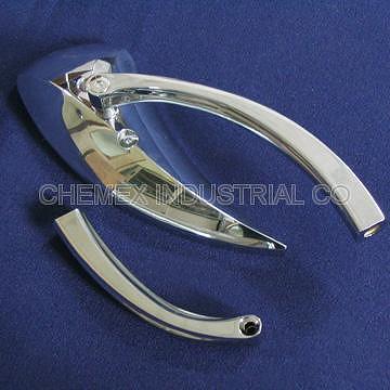 【CHEMEX】Zinc Alloy Chrome Plated Motorcycle Rear Mirror for Harley or Chopper Tear Drop Top Quality