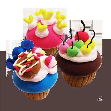 Sweet Cake Soft Clay Set