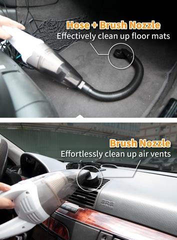 Cyclone Wet/Dry Vacuum Cleaner for Car