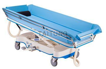 Taiwan Medical Shower Trolley ,Hospital Shower Bed , Shower ...