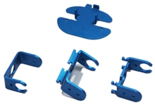 Servo Robot Bracket-Linkage_blue eduation toy