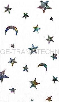 Clothing HOT STAMPING FOIL TRANSFER FILM-HOLOGRAPHIC/DESIGNS