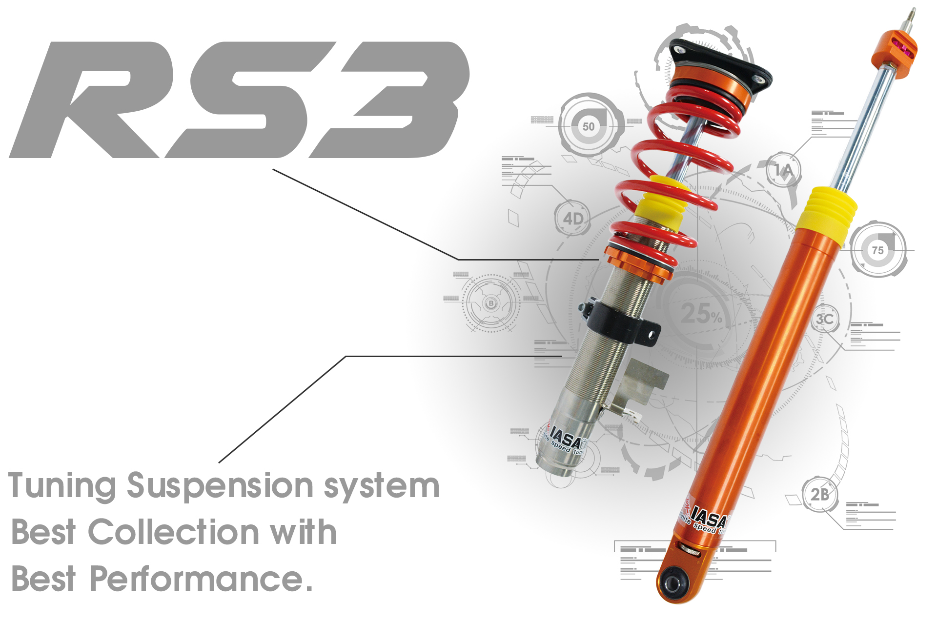 IASATI - RS3 Shock Absorber