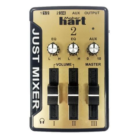 Maker Hart  Gold 120V 3CH stereo USB audio mixer