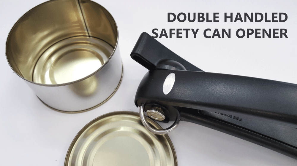 Double Handled Safety Can Opener