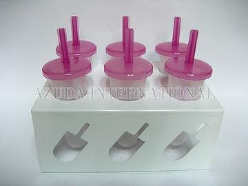 6 HOLES POPSICLE WITH S.S. LID