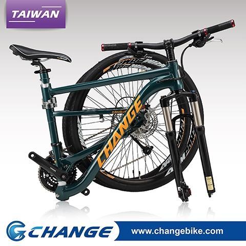 "ChangeBike 27.5"" Folding Mountain Bikes DF-809G"