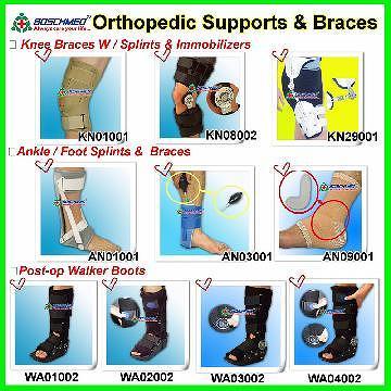 Taiwan Foot Ankle Knee Braces Fracture Walker Boots