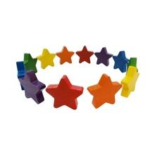 6 Colors Wooden Five-pointed star