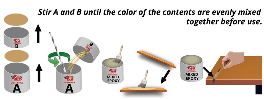 Reasonable price epoxy resin clear ab liquid glue