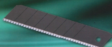 The saw blade (shark teeth type) for the cutter