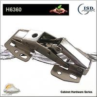 Spring Support Hinge, Easy Mount Concealed Hinge, Zinc plated steel hinge