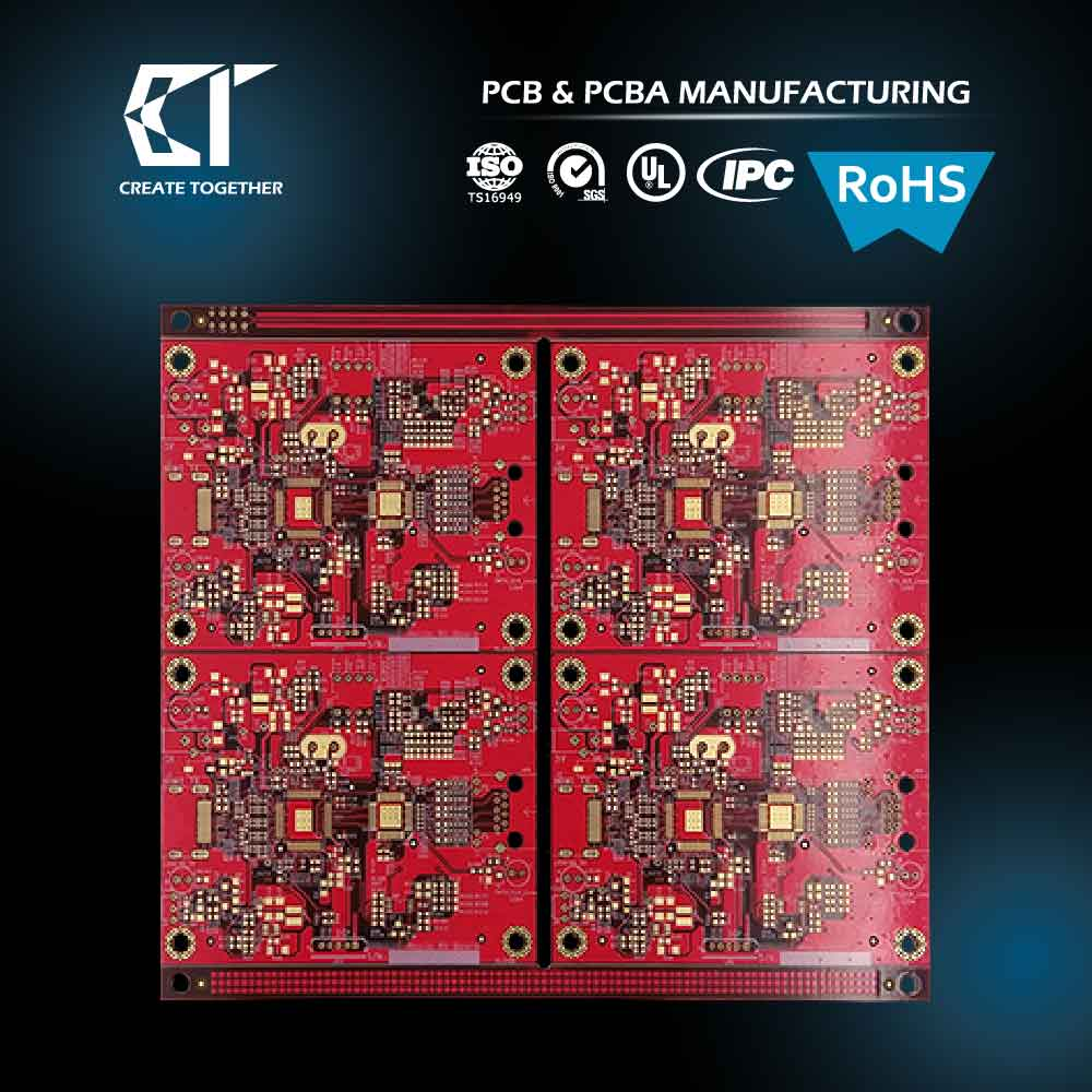 Taiwan Pcb Manufacturer Custom Prototype 94v0 Circuit Board Pcba Assembly Manufacture Electronic China Buy With Rohs Ru