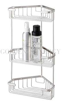 Taiwan Stainless Steel 3 Tier Corner Shower Caddy Stainless Steel
