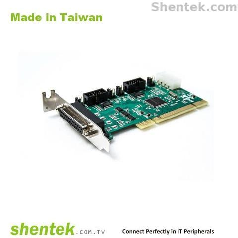 RS232 Parallel PCI Card Power Selectable Industrial